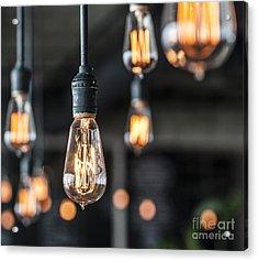 Lighting Decor Acrylic Print