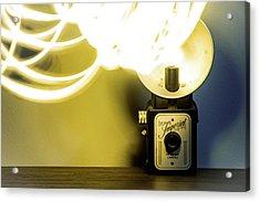 Lights, Camera, Action Acrylic Print