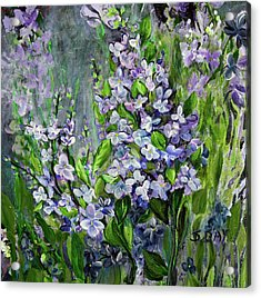 Lilac Dream Acrylic Print