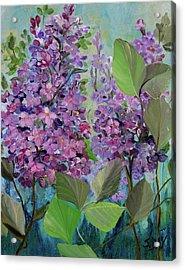 Lilac Love Acrylic Print