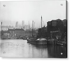 Lincoln Docks Acrylic Print by Hulton Archive
