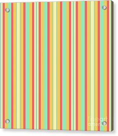 Lines Or Stripes Vintage Or Retro Color Background - Dde589 Acrylic Print