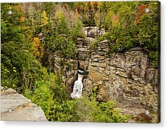 Linville Falls - Wide View Acrylic Print