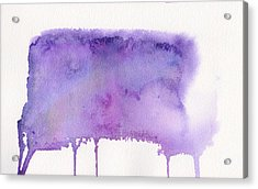 Acrylic Print featuring the painting Liquid Galaxy by Bee-Bee Deigner