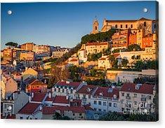 Lisbon. Image Of Lisbon, Portugal Acrylic Print