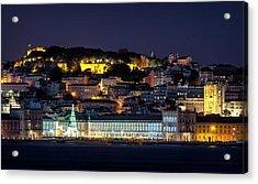 Lisbon In Christmas Time Acrylic Print