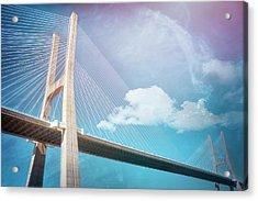 Lisbon Portugal Vasco Da Gama Bridge Acrylic Print