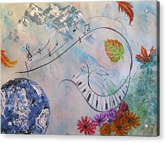 Listen To The Earth Song Acrylic Print