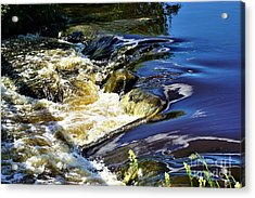 Little Bitty Waterfall Acrylic Print