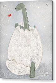 Little Dinosaur Acrylic Print