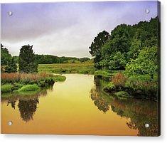Little River Twilight Acrylic Print