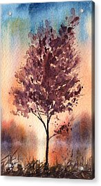 Little Zen Tree 2090 Acrylic Print