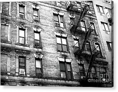 Living On Mulberry Street In New York City Acrylic Print