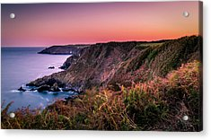 Lizard Point Sunset - Cornwall Acrylic Print