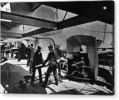 Loading Gun Acrylic Print by Hulton Archive