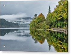 Loch Ard In Scotland Acrylic Print