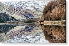 Acrylic Print featuring the photograph Loch Of The Lowes Winter by Tim Gainey