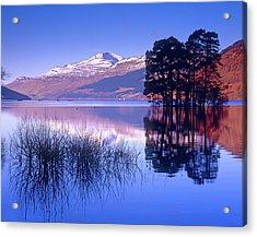 Loch Tay, Kenmore, Scotland Uk Acrylic Print by Kathy Collins