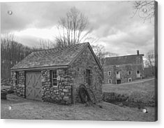 Lock House And Store - Waterloo Village Acrylic Print