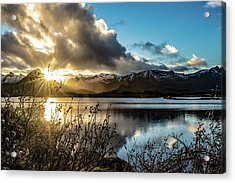 Lofoten Sunset Acrylic Print