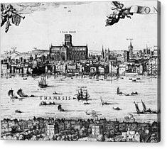 London 1616 Acrylic Print by Hulton Archive