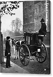 London Cabmen Acrylic Print by John Thomson