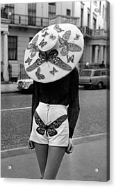 London, England, 6th April 1971, A Acrylic Print by Popperfoto