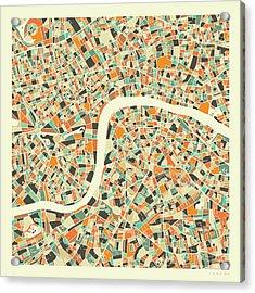 London Map 1 Acrylic Print