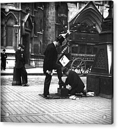 London Shoeshine Acrylic Print by Paul Martin