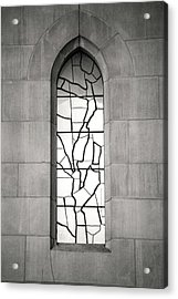 Lone Cathedral Window Acrylic Print