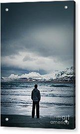 Lonely Seas Acrylic Print