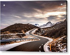 Long And Winding Road Acrylic Print