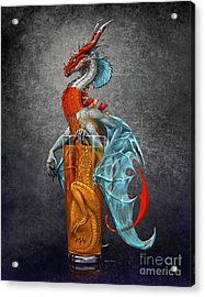 Long Island Ice Tea Dragon Acrylic Print
