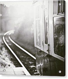 Long Train Running Acrylic Print