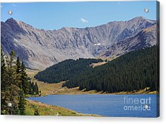 Longs Peak Colorado Acrylic Print