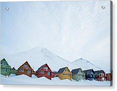 Longyearbyen, Spitsbergen, Norway - Acrylic Print