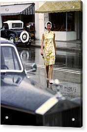 Look No Shoes Acrylic Print by Slim Aarons