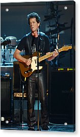 Lou Reed Acrylic Print by New York Daily News