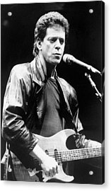 Lou Reed Sings At Childrens Health Acrylic Print