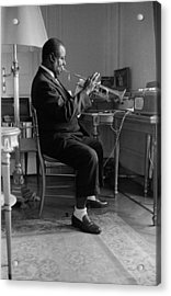 Louis Armstrong In 1959 Acrylic Print by Giancarlo Botti