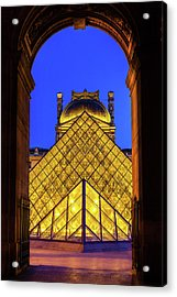 Louvre Framed Acrylic Print