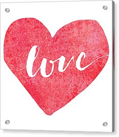 Acrylic Print featuring the digital art Love Is In The Air by Bee-Bee Deigner