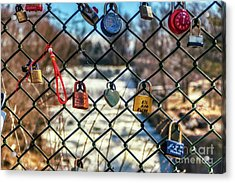 Love Locks Acrylic Print