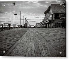 Low On The Boardwalk Acrylic Print