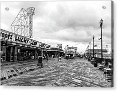 Lucky Leo's Seaside Heights Acrylic Print