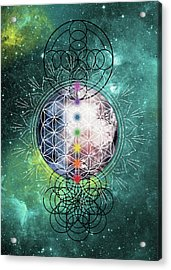 Acrylic Print featuring the digital art Lunar Mysteries by Bee-Bee Deigner