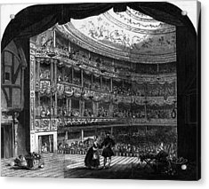 Lyceum Theatre Acrylic Print by Hulton Archive