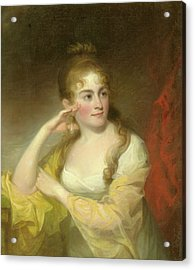Portrait Of Lydia Leaming, 1806 Acrylic Print