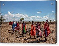 Maasi Women Acrylic Print