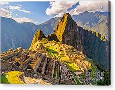 Machu Picchu Peru, Southa America, A Acrylic Print